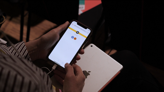 Interprétation simultanée sur smartphone