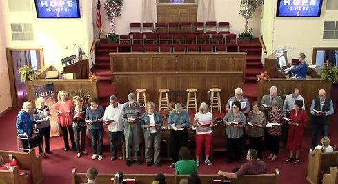 Worship Service 9/26