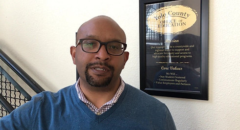 Garth Lewis serves as the Yolo County Superintendent of Schools.