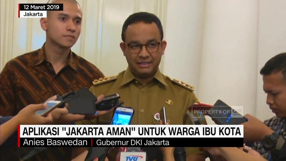 Aplikasi 'Jakarta Aman' Untuk Warga Ibu Kota