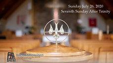 7th Sunday After Trinity 2020
