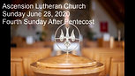 4th Sunday After Pentacost 2020