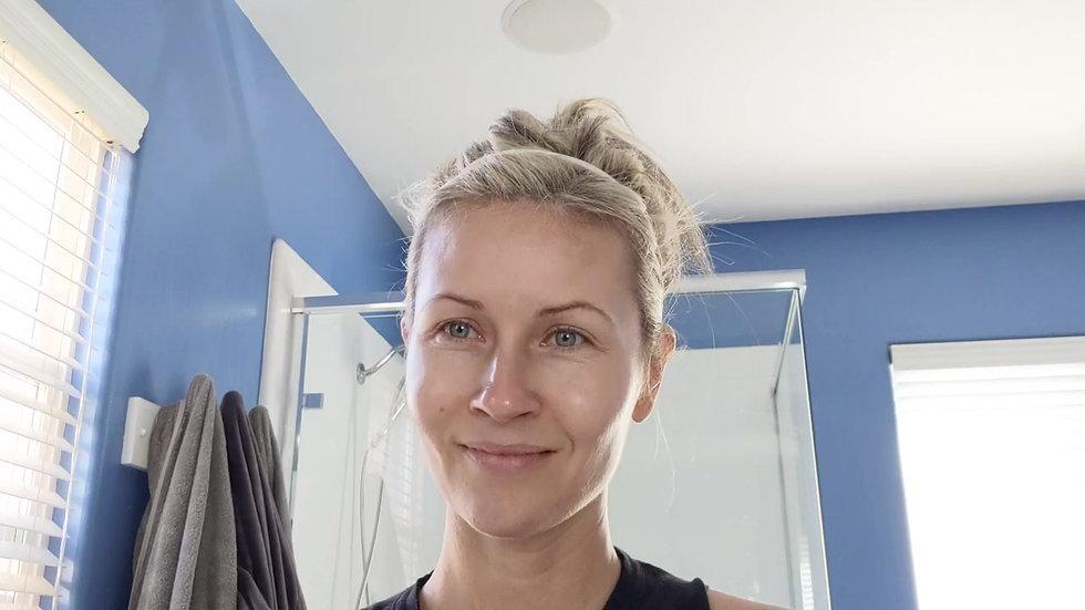 The Deweffect Re-wet Face Technique