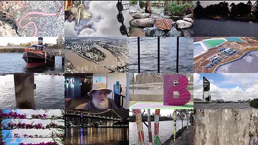 WaterLinks: Brisbane Reflections, 2016. Create X Exhibition, Queensland Institute of Technology, Brisbane Australia