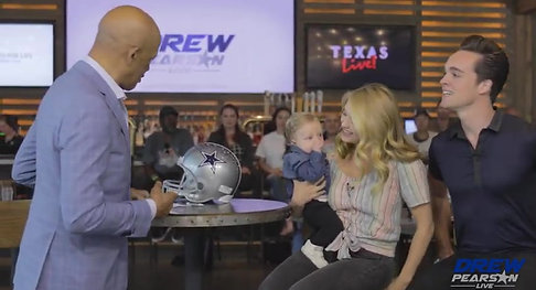 Drew Pearson Live on ABC EP. 5 Larry Brown Super Bowl XXX MVP in 4K