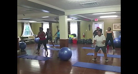 Butts n Guts Group Fitness Class