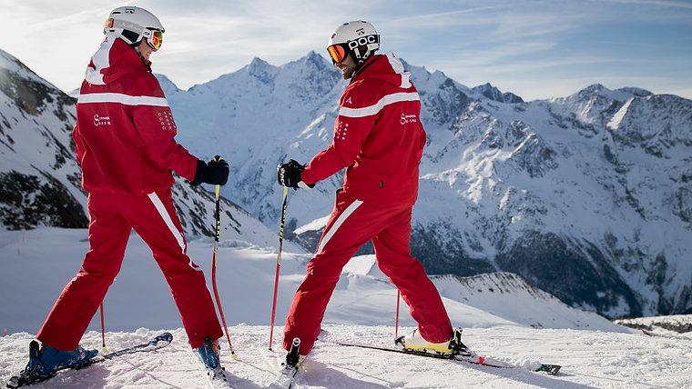 Werbefilm Schneesportschule Saas-Grund