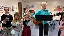 Chilrden's Choir Rehearsal