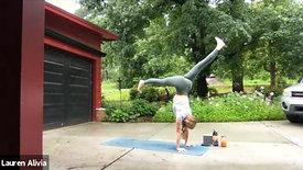 Morning Vinyasa ~ strength / balance