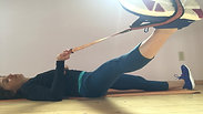 Hip Stretching with strap