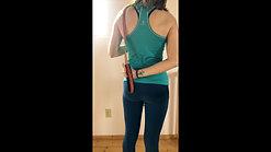 Shoulder IR with strap
