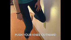 Glut Med Wall Push with Core Activation