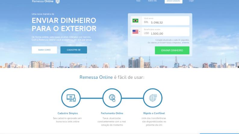 Remessa Online | Enviar dinheiro