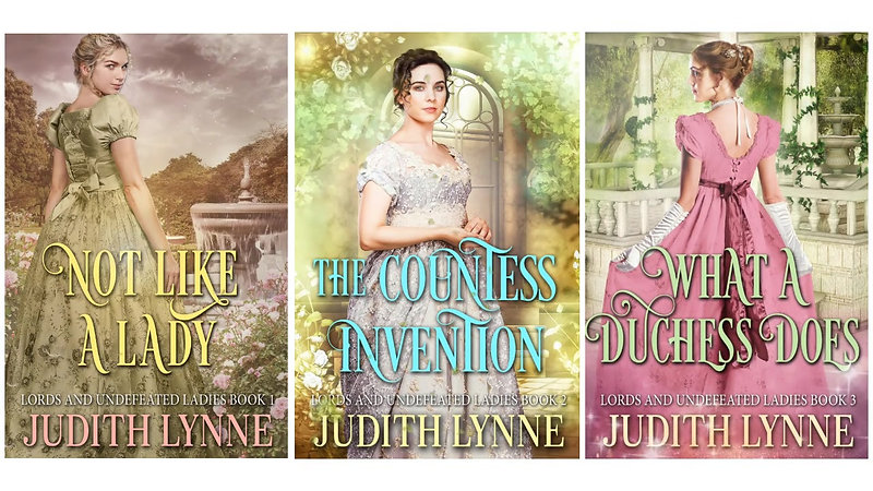 Lords & Undefeated Ladies Series by Judith Lynne