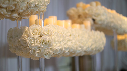 MODERN WHITE BREAKERS WEDDING BY GUERDY DESIGN