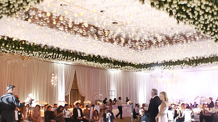 EAU WEDDING  EXTRAVAGANZA WEDDING BY GUERDY DESIGN
