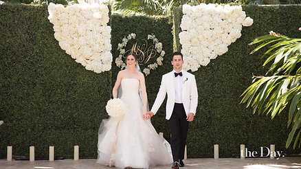 CHIC WEDDING ON FISHER ISLAND BY GUERDY DESIGN