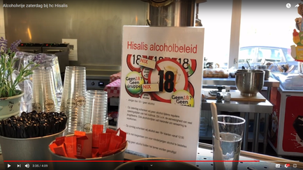 Alcoholvrije zaterdag bij HC Hisalis