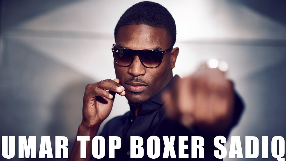 Top Boxer Sadiq Introduction