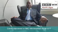 Colmin on BBC WM Breakfast
