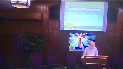 A Song of Thanksgiving - BSBC Service 11/22/2020