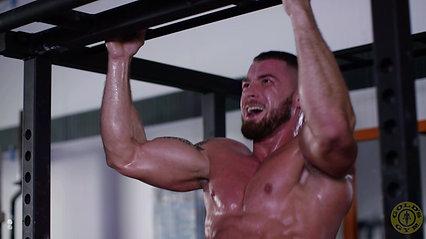 Golds Gym Protein Powder Advert