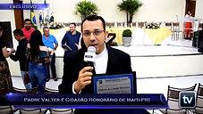 TV Online Informa - Padre Valter é Cidadão Honorário de Ibaiti-PR!