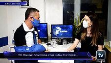 TV Online Eleições - Exclusivo! TV Online conversa com Juíza eleitoral!