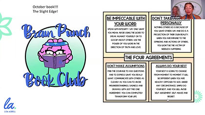 Brainpunch Book Club - The Four Agreements