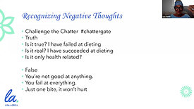 *Replace Your Negative Thoughts To Lose Weight