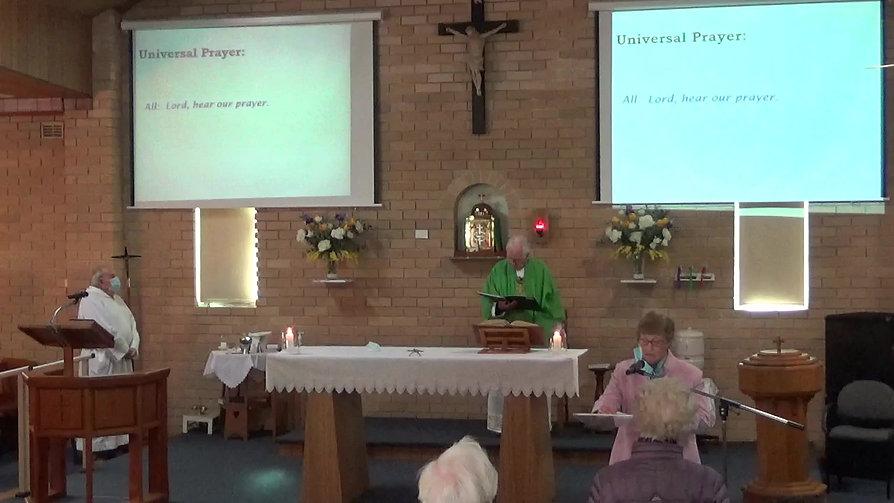 Sunday Mass-17th Sunday OT-25 July, 2021
