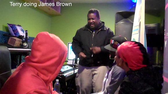 Terry doing James Brown 30 sec16