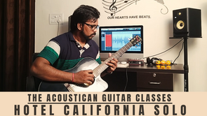 Hotel California | The Acoustican Guitar Classes