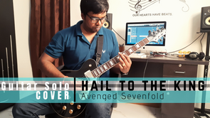HAIL TO THE KING GUITAR SOLO  | AVENGED SEVENFOLD