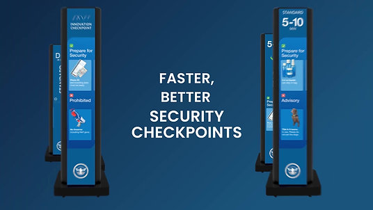 Faster, Better Security Checkpoints