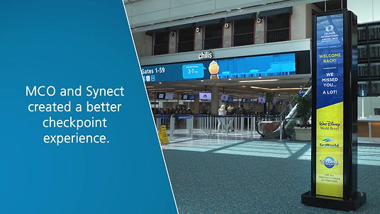 MCO's Checkpoint LED Video Wall