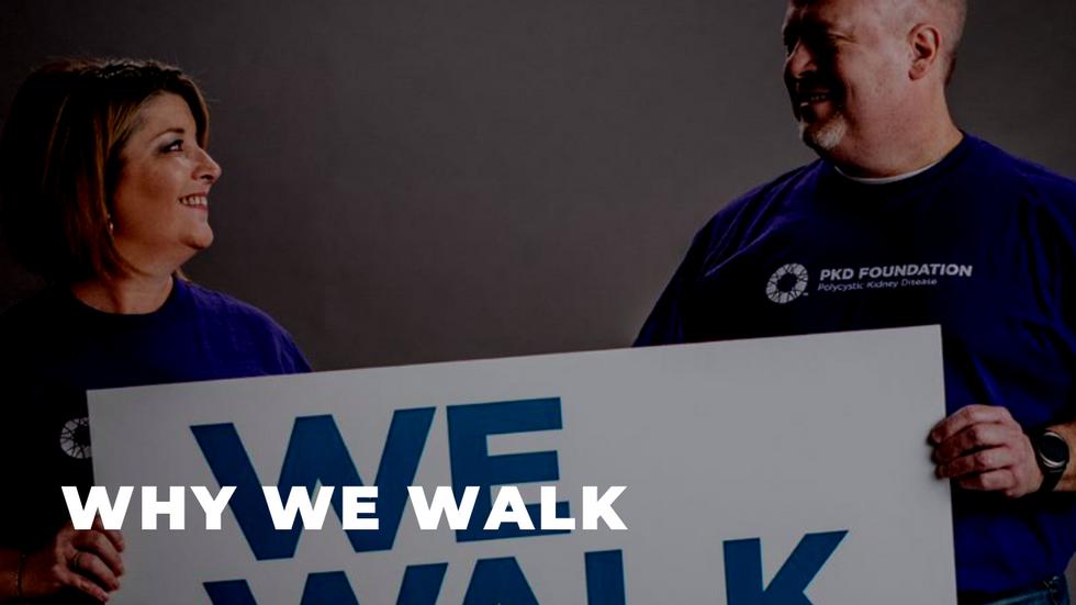 Why We Walk