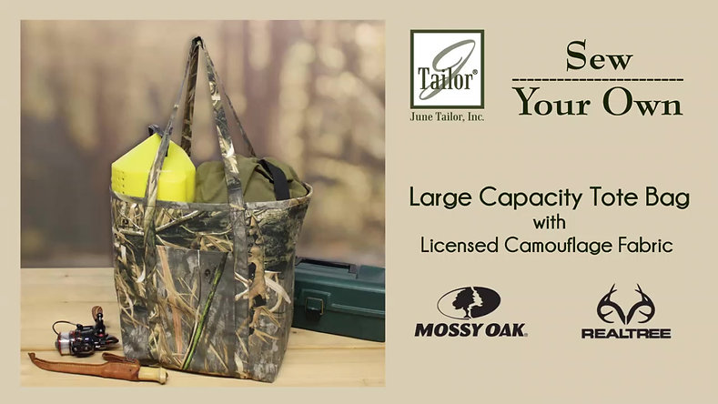 Camouflage Large Capacity Tote Sewing Kit