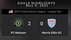FC MOTOWN vs MORRIS ELITE SC
