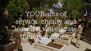 Honor Israel's Fallen