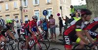 Cyclo la Ventoux Sud - Sur la ligne de départ