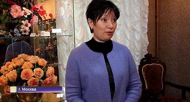 Юлия Кожедуб о выставке Диалог Цветов