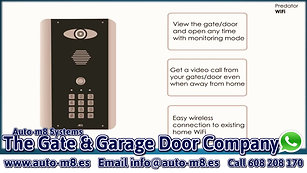 AES Intercoms from The Gate & Garage Door Company Spain
