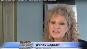 Wendy Interiors - Featured on Heros on LI Decorator Madness