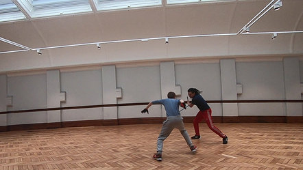 Stage Combat: BADC Intermediate  Exam