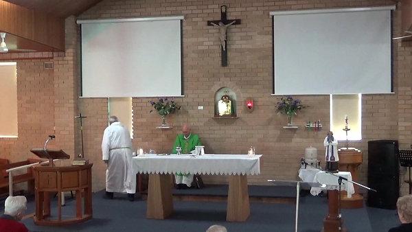 Sunday 2nd August 9.30am Mass