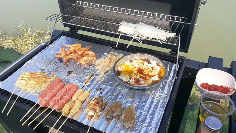 Charcoal BBQ Grillers