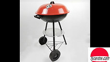 DS-22, three legs steel BBQ stand with wheels