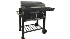 Steel big square BBQ grill smoker (DS-34)