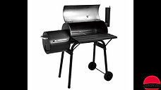 DS-35/DS-36, charcoal offset roll-away BBQ Grillers